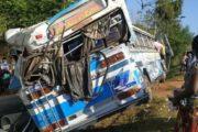 யாழ்ப்பாணம் – கண்டி ஏ-9 வீதியின் திரப்பனை பகுதியில் விபத்து